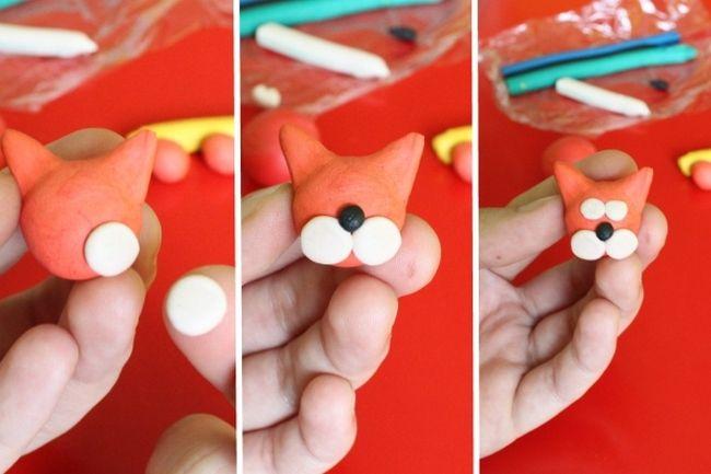 Пошаговые уроки для детей - как из пластилина слепить кошку