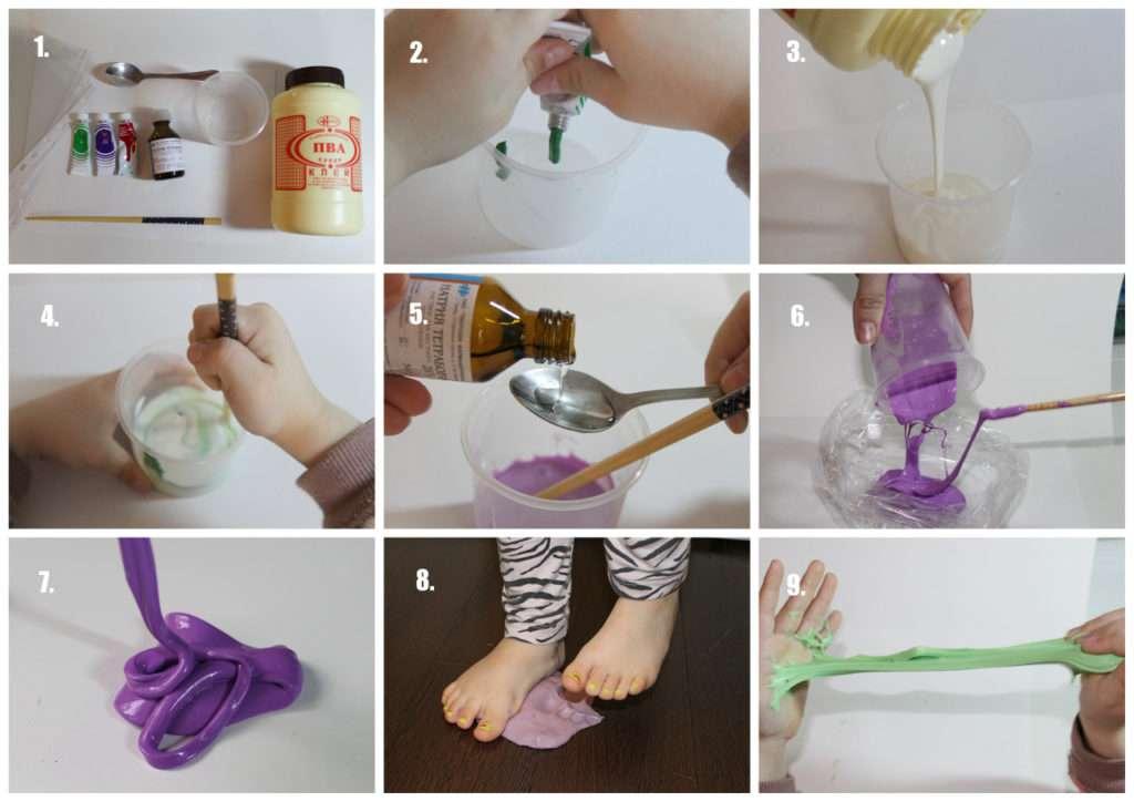 Как сделать своими руками пластилин - рабочие рецепты в домашних условиях