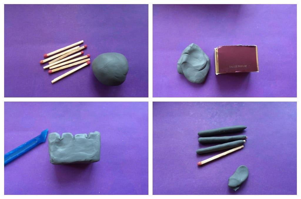 Как сделать из пластилина еду и что можно слепить