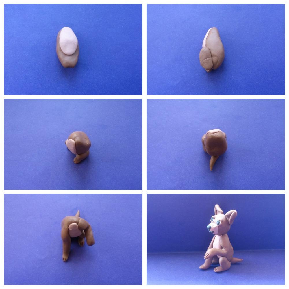 Как из пластилина слепить различные породы собак