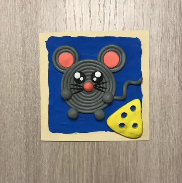 Как слепить из пластилина мышку - пошаговые инструкции для детей