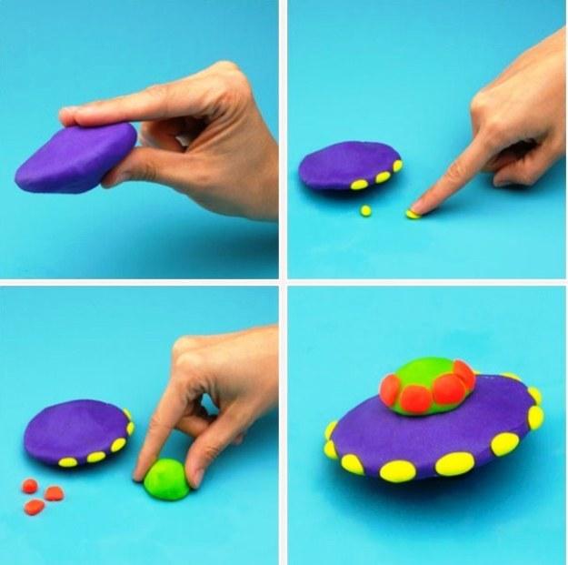 Пошаговые идеи что можно слепить из легкого и воздушного пластилина